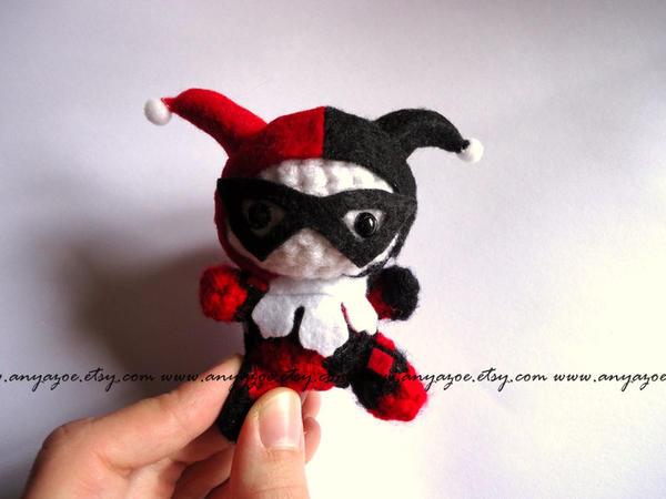 Amigurumi Harley Quinn : Harley Quinn Amigurumi by AnyaZoe on DeviantArt