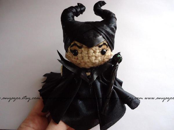 Maleficent Amigurumi by AnyaZoe