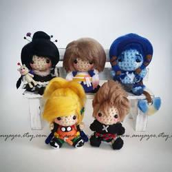 Final Fantasy Amigurumi by AnyaZoe