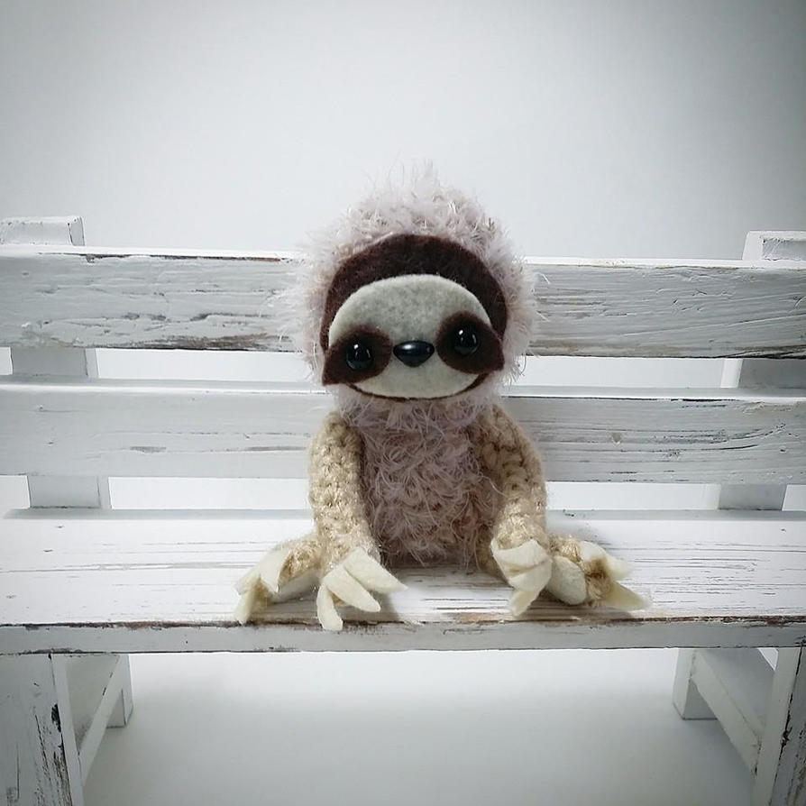 Sloth Amigurumi by AnyaZoe on DeviantArt