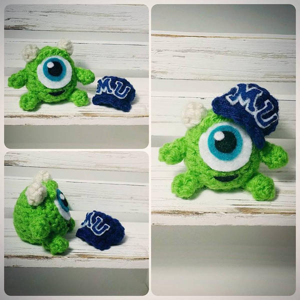 Kid Mike Wazowski Amigurumi by AnyaZoe on DeviantArt