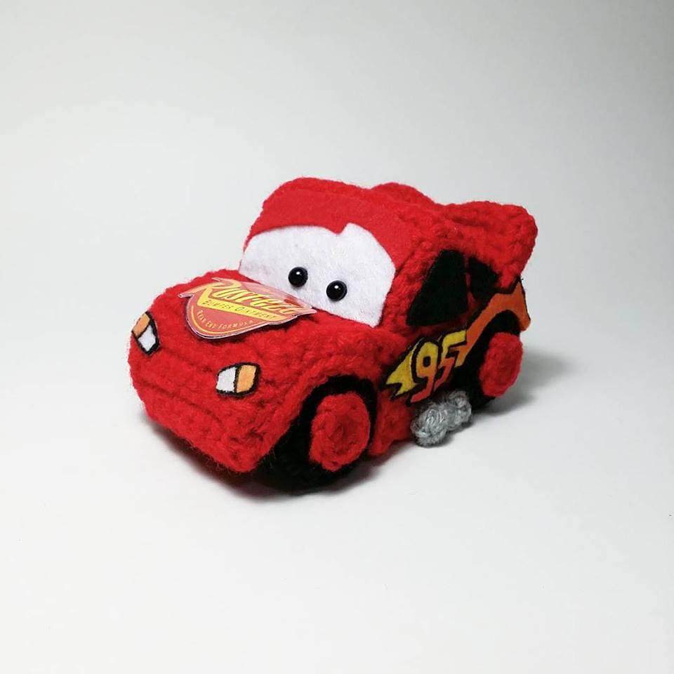 Amigurumi Patterns Cars : Amigurumi cars lightning mcqueen kalulu for