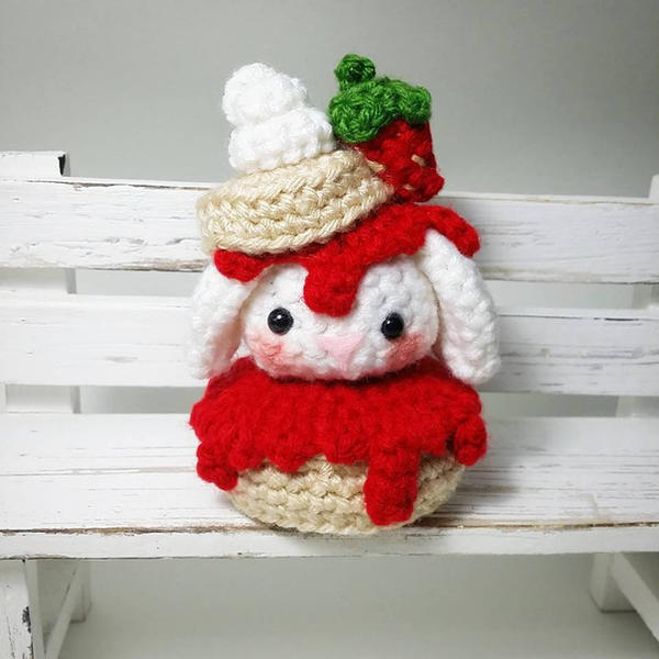 Strawberry Shortcake Bunny Amigurumi By Anyazoe On Deviantart