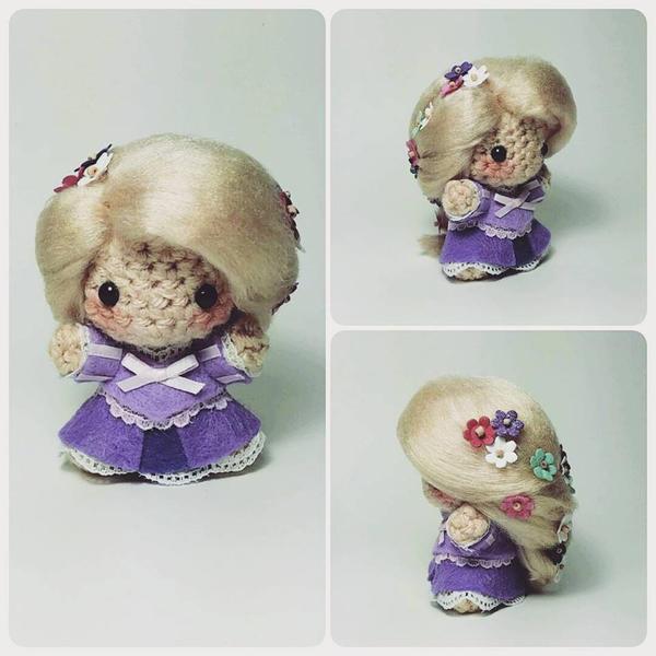 Rapunzel Amigurumi by AnyaZoe