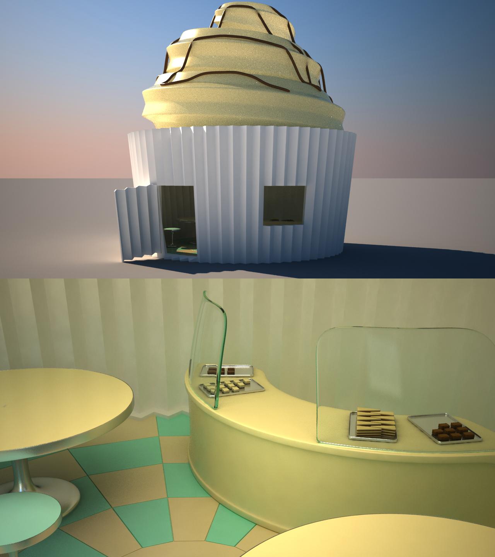 Speed modeling - Bakery by Ricsmond