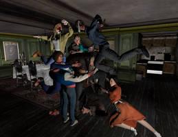 Freddy vs. Jason vs. Ash: Jason vs. His Victims by WeylandYutaniCorp