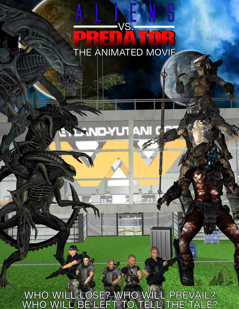 Predator the animated movie by weylandyutanicorp