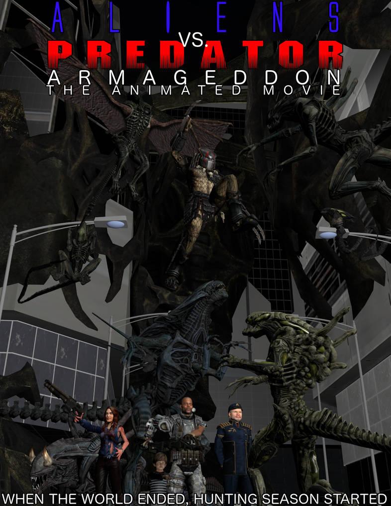 Predator armageddon the animated movie by weylandyutanicorp
