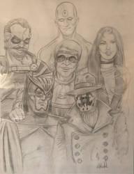 Watchmen by Jeff Huddleston