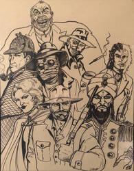The League of Extraordinary Gentlemen by Jeff Hudd