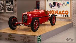 1932 Alfa Romeo 8C 2300 Monza by GeckoNeon