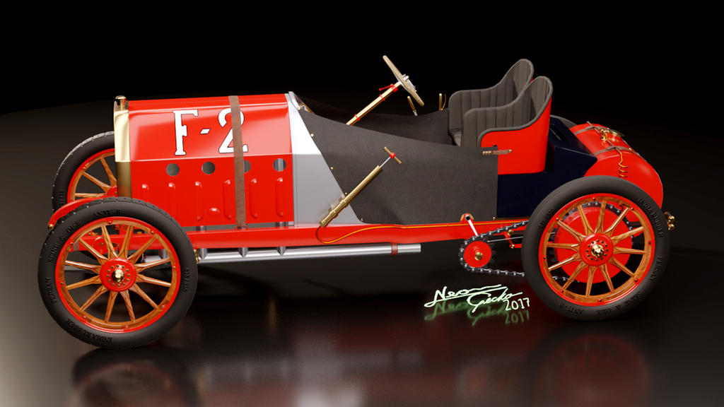 1907 Fiat F-2 130 HP - 3 by GeckoNeon