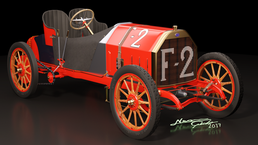 1907 Fiat F-2 130 HP - 1 by GeckoNeon
