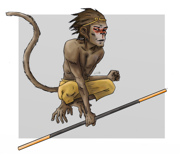 Monkey by PotNoodle23
