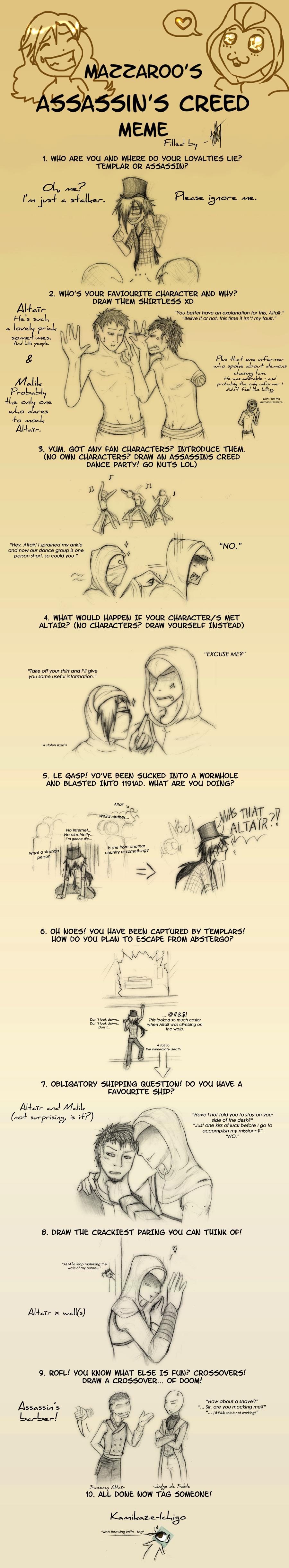 Assassin's Creed meme by K-Kit