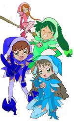 Cassie, Mandy, Feli y Candela