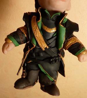 Loki Chibi, details closeup
