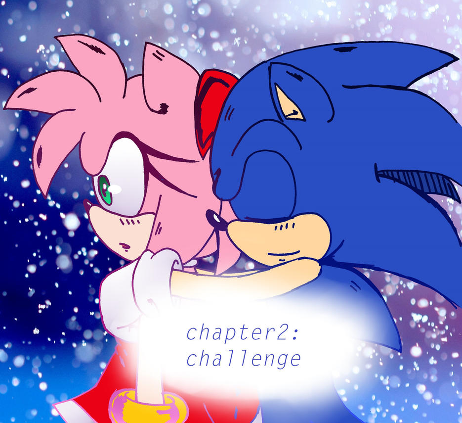 ::Sonamy comic:: Chapter 2: challenge by heitor-jedi