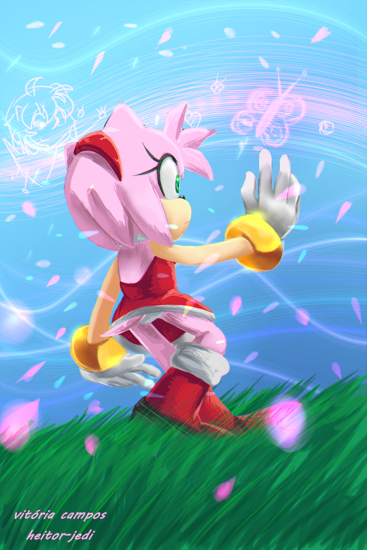 Amy and Magic by heitor-jedi