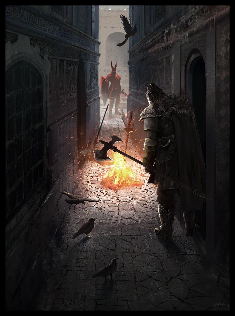 Alley Bonfire By Sebastiankowoll On Deviantart