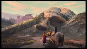 Rhino by SebastianKowoll