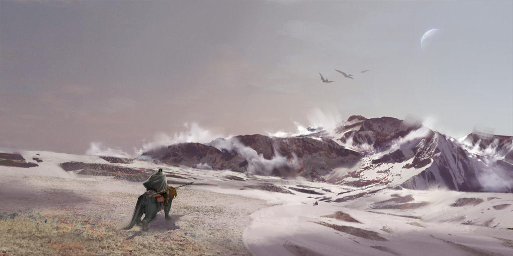 Ark Snow 1 by SebastianKowoll