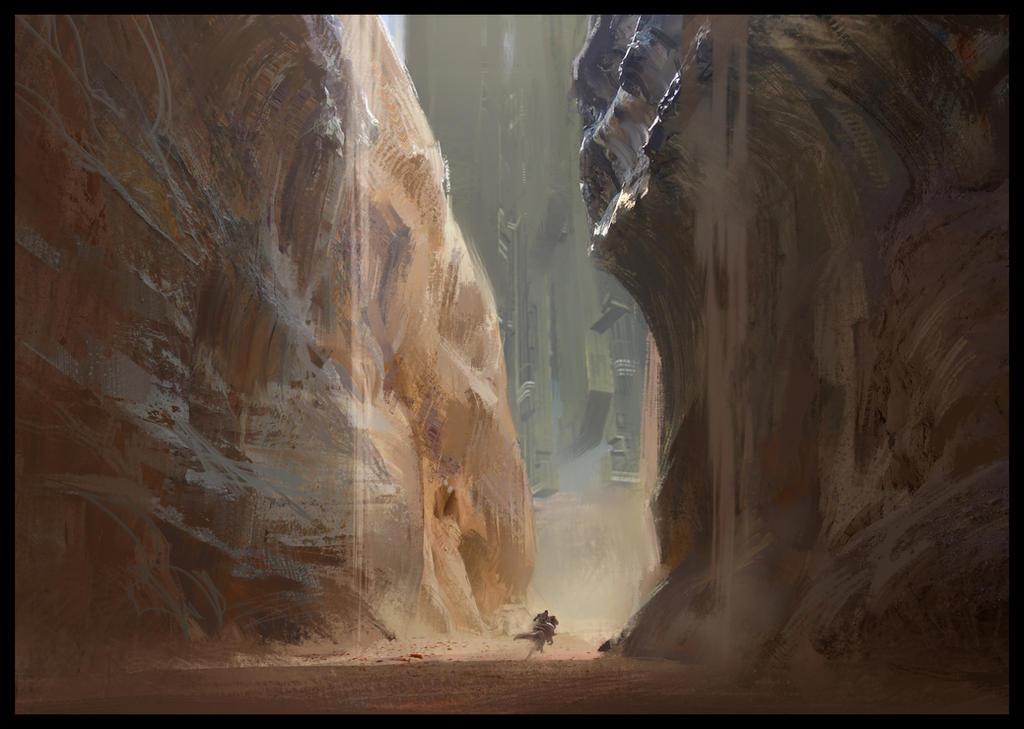 Ravine by SebastianKowoll