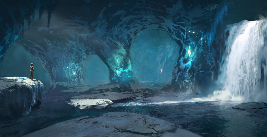 Ark: Ice Cave by SebastianKowoll