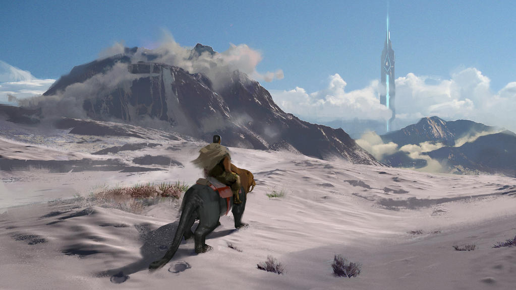 Snow Biome ARK by SebastianKowoll