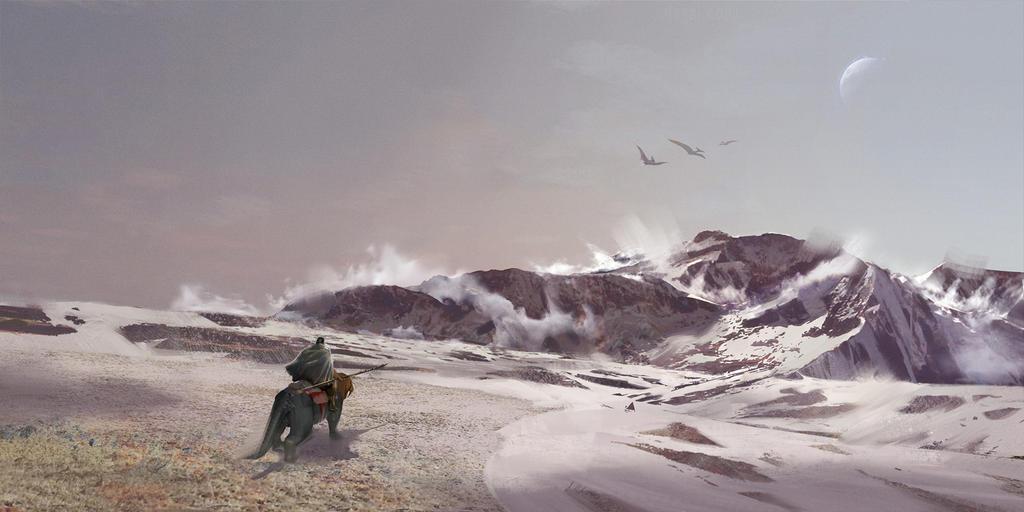 Snow Biome + ARK by SebastianKowoll