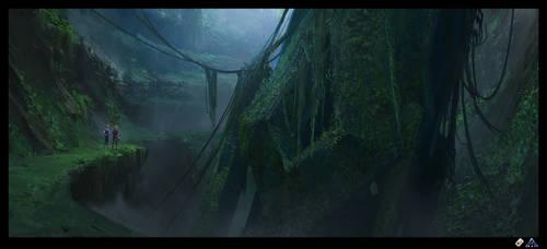 Ark: Fallen Obelisk by SebastianKowoll