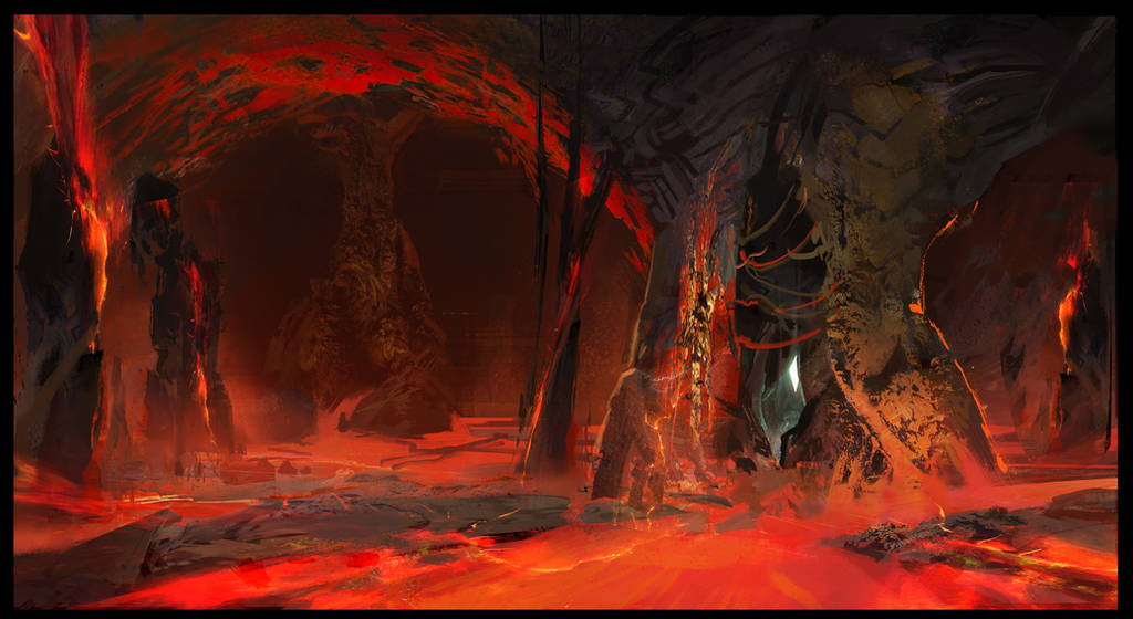 Ark: Aberration Red Caves by SebastianKowoll