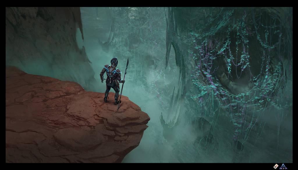 Ark: Aberration Blue Caves 4 by SebastianKowoll