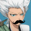 Toshiro Mustache Icon by Xx1NF3CKT3DxX