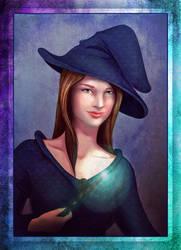 Witch portrait (commission)