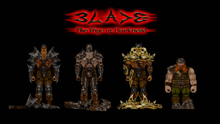 Blade The Edge of Darkness: New Armors by IrateGiant