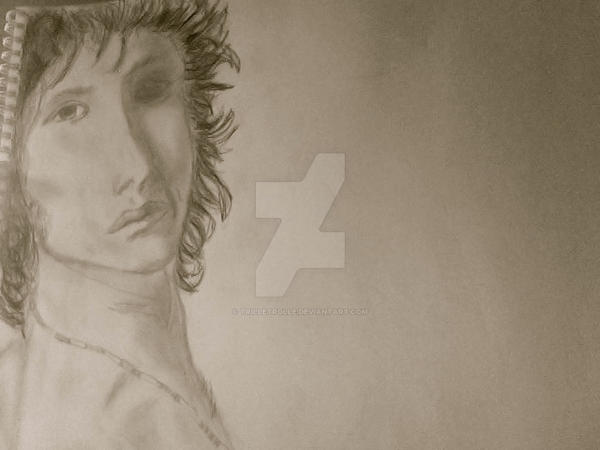 Jim Morrison by TrilleTrolle