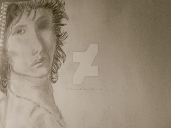 Jim Morrison by TrilleTrolle