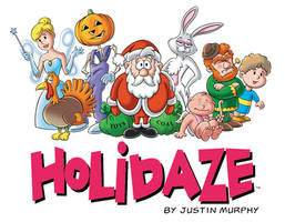 HOLIDAZE Cover by rampartpress