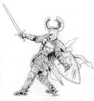 Teutonic Knight by rampartpress