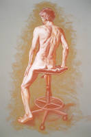 Figure in Pastels by rampartpress