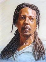 Pastel Portrait by rampartpress
