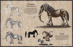 Pachydale Creature Design by rampartpress