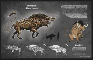 Hyenataur by rampartpress