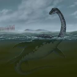 The Loch Ness Monster by rampartpress