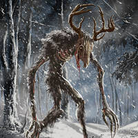 Wendigo by rampartpress