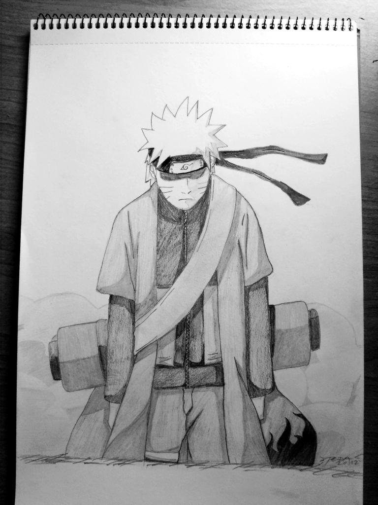 Naruto Sage Mode by Lightbringer023 on DeviantArt