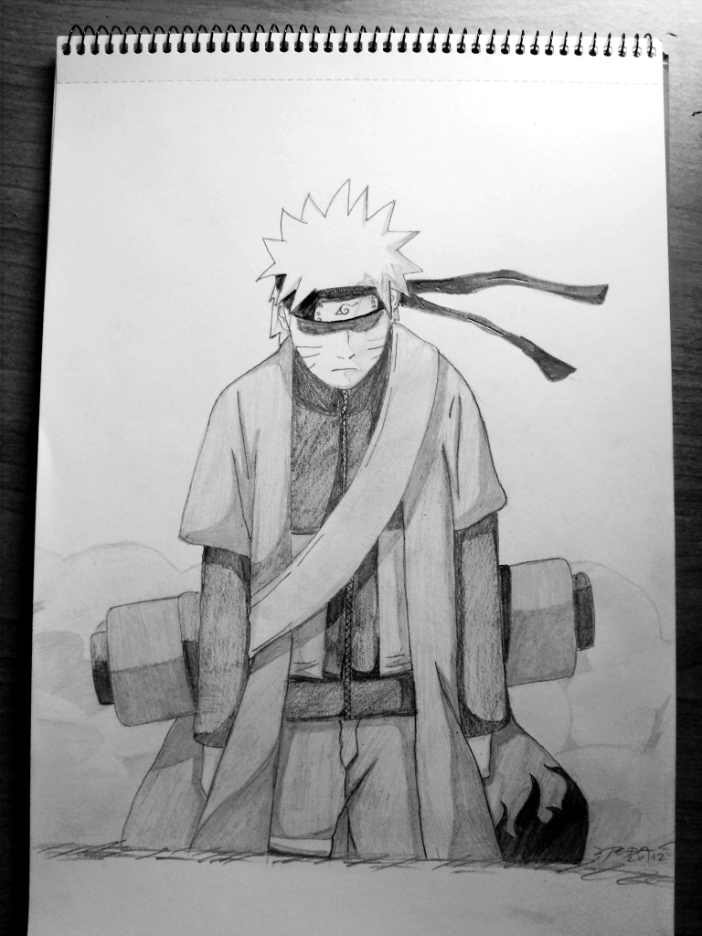 Naruto Sage Mode By Lightbringer023 On Deviantart