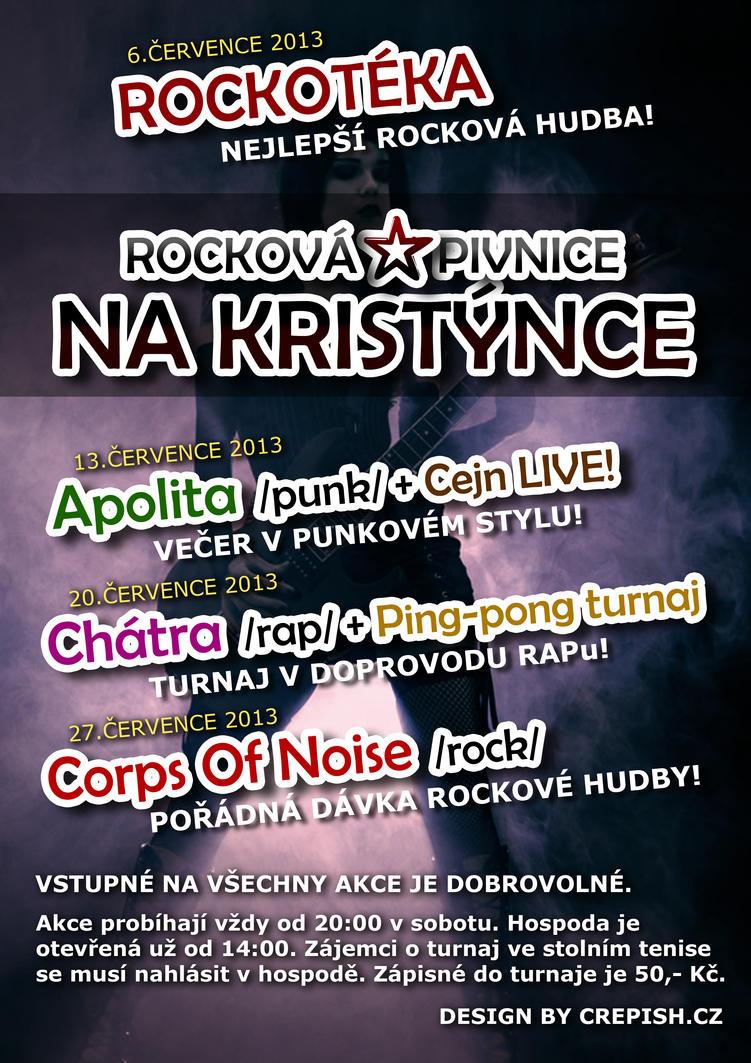 Rockova pivnice - poster by crepish