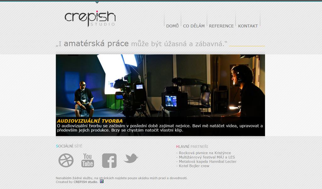 CREPISH studio - webdesign by crepish